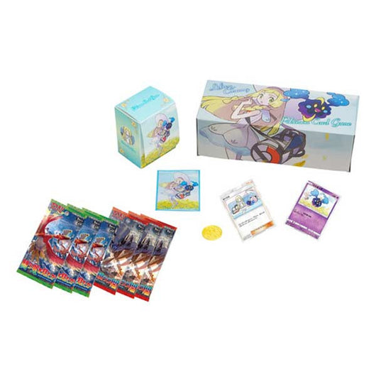 Pokemon Center Exclusive Sun & Moon Lillie And Cosmog Special Box