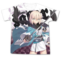 (PO) Fate/Grand Order Saber/Souji Okita Full Graphic T-shirt (10)