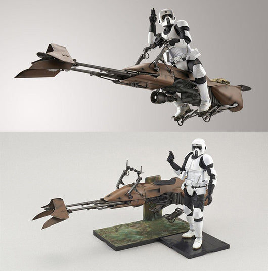Star Wars Scout Trooper & Speeder Bike