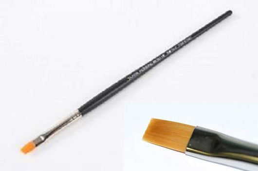 Tamiya Modeling Brush - High Finish Flat Brush No.2