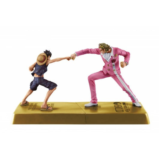 One Piece DXF Manhood2 - Gildo Tesoro & Monkey.D.Luffy