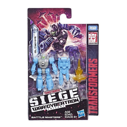 Transformers Generations War For Cybertron: Siege Battlemasters Blowpipe