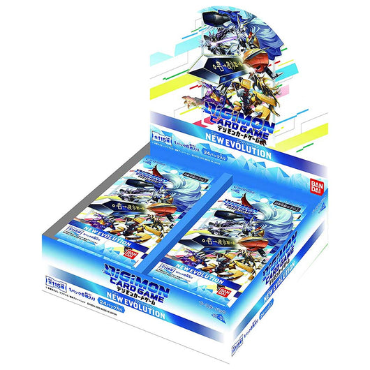 Digimon Card Game ver.1.0 New Evolution Booster [Box]
