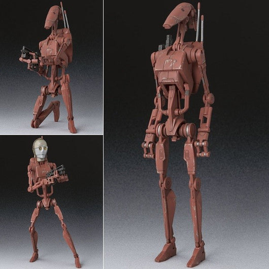 S.H.Figuarts Star Wars - Battle Droid Geonosis Color (10)