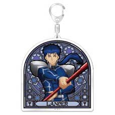 (PO) Fate/stay night Heaven's Feel Big Acrylic Key Chain - Lancer (2)