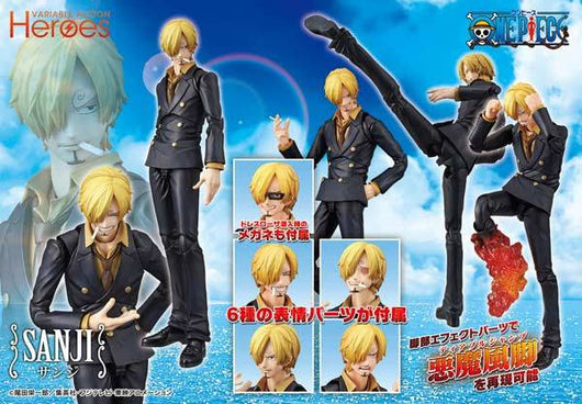Variable Action Heroes - One Piece - Sanji