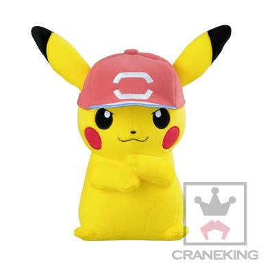Pokemon Sun & Moon Kotorin Friend Big Plush – Pikachu in Ash's Hat