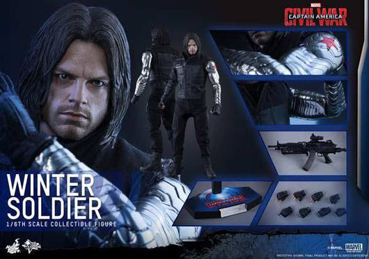 MMS351 Captain America: Civil War - Winter Soldier