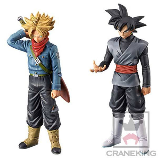 Dragonball Super DXF Super Warrior vol.2 - Trunks (Future) & Goku Black set