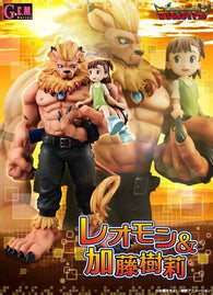 GEM Series Digimon Leomon & Kato Juri