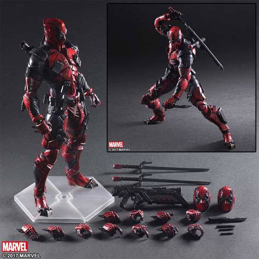 Marvel Universe Variant Play Arts Kai - Deadpool (3)