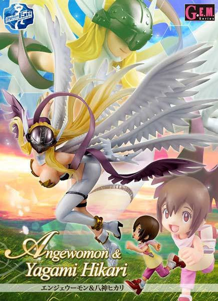 GEM Series Digimon Adventure Angewomon and Yagami Hikari (Re-issue)
