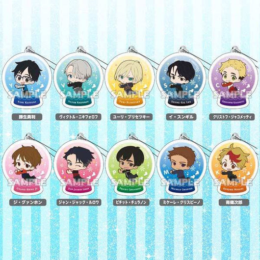 Yuri! on Ice Chararium Strap Collection