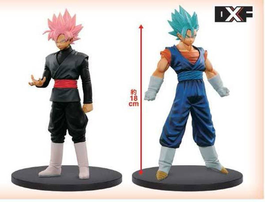 Dragonball Super DXF The Super Warriors 3 - Goku Black & Vegeto God Set