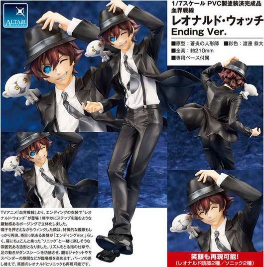 Blood Blockade Battlefront - Leonard Watch Ending Ver.