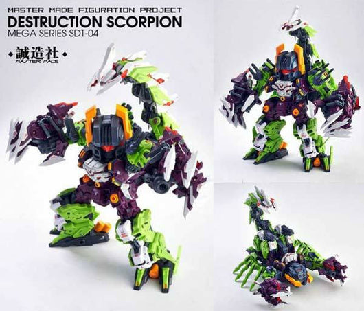 Master Made SD Figuration Project SDT-04 – Destruction Scorpion