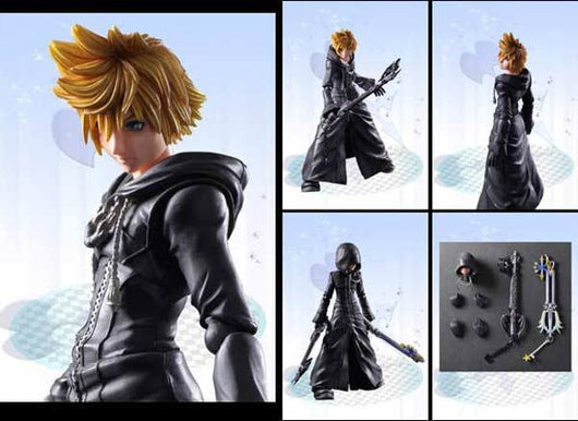 Kingdom Hearts II Play Arts Kai Roxas -Organization XIII Ver.-