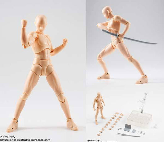 S.H.Figuarts Body-kun DX SET Pale orange Color Ver.