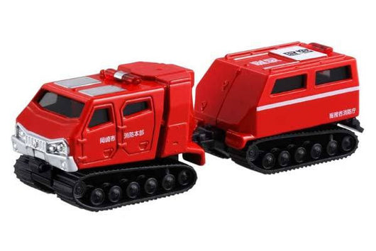 Tomica 121 All-terrain vehicle Red Salamander Extreme V