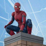 S.H.Figuarts Spider-Man (Homecoming) with ACT Wall