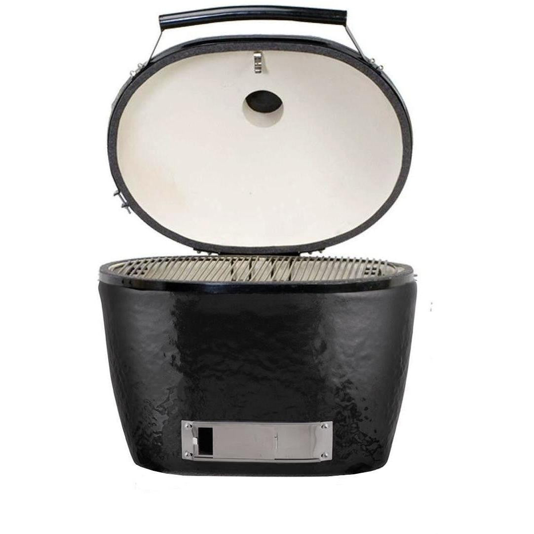 primo jack daniels special edition ceramic charcoal kamado grill