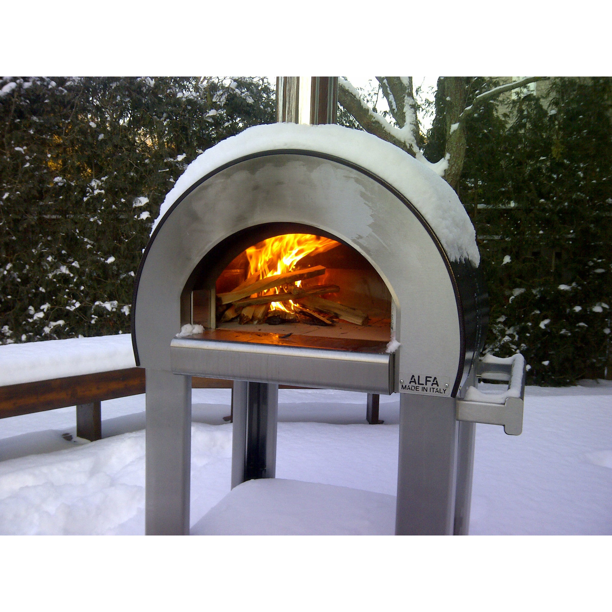 backyard pizza oven the mangiafuoco wood oven garden design with