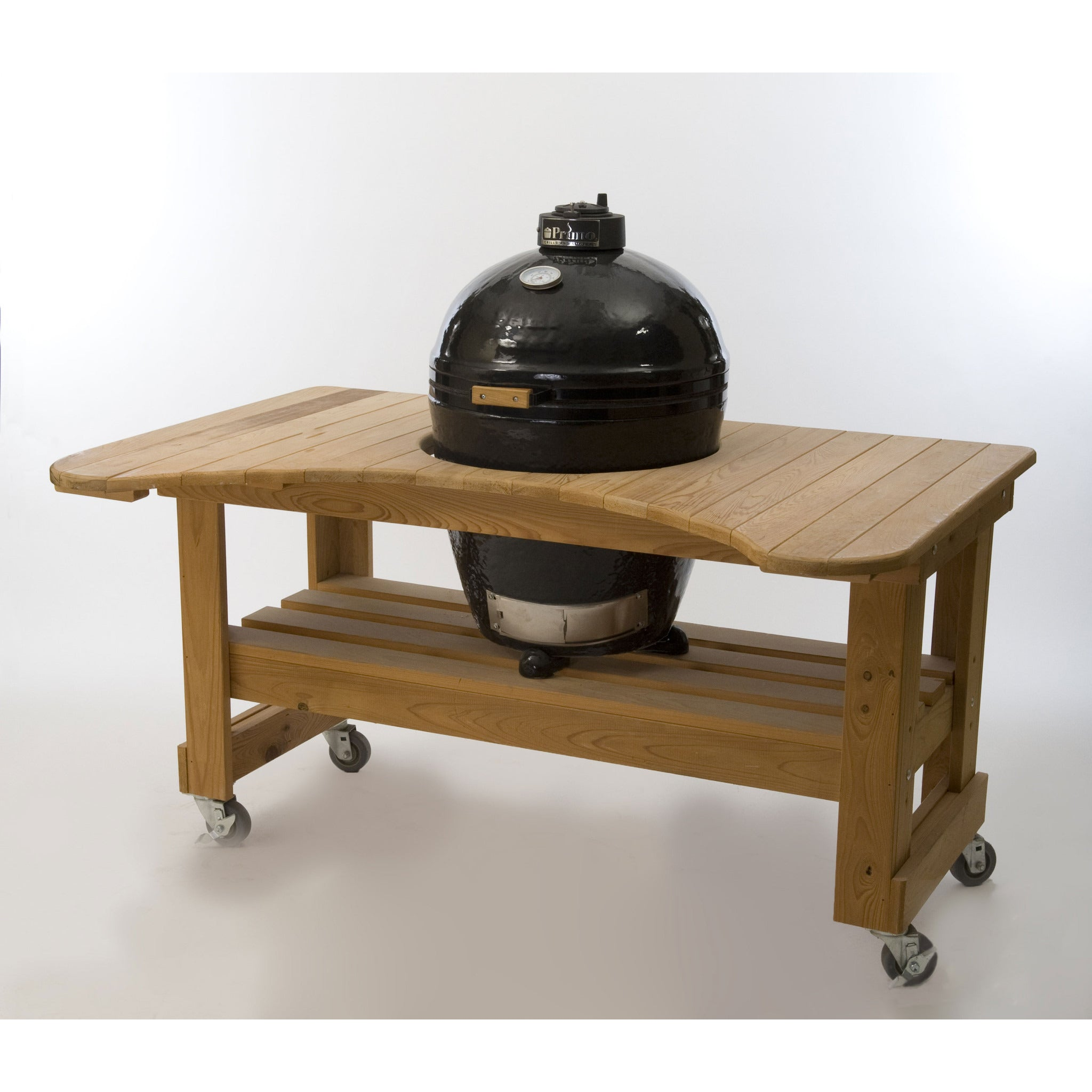 Primo Ceramic Charcoal All In One Kamado Grill Round Original