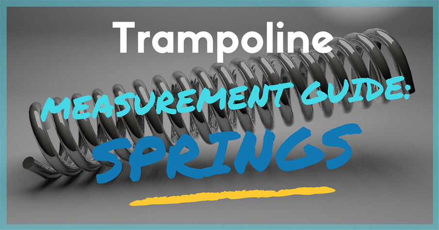 How to Measure & Replace Your Trampoline Springs