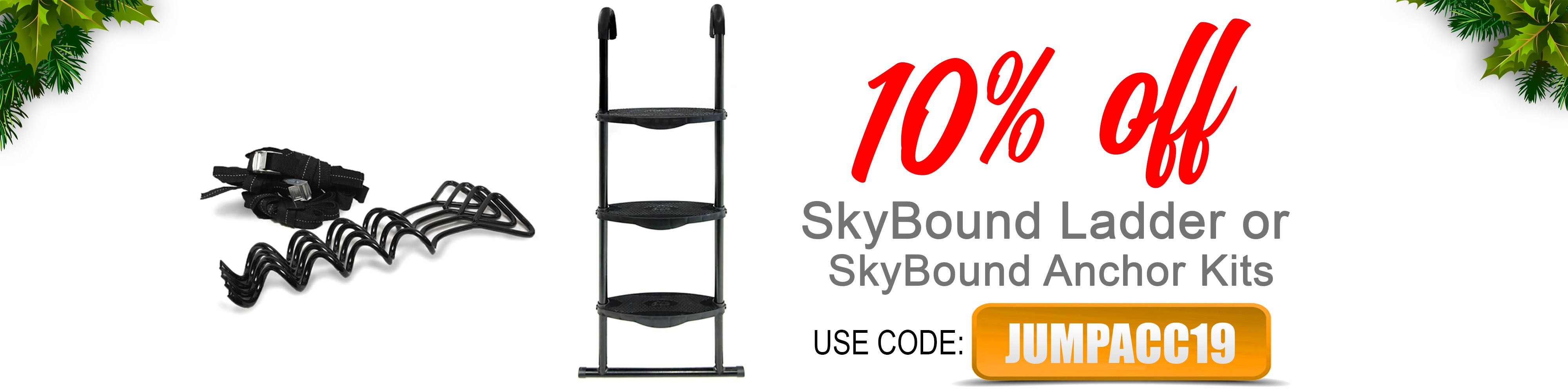 SkyBound trampolines coupon code 2019 christmas xmas holiday deals