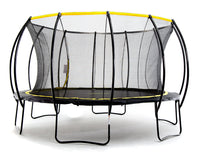 Stratos 15ft Trampoline w Full Enclosure Net System - SkyBound USA