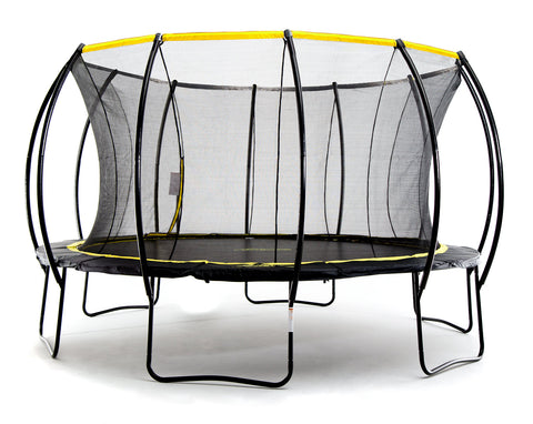Stratos 15ft Trampoline With Full Enclosure Net System - SkyBound USA