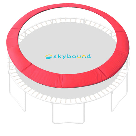 "14 Foot Red Replacement Trampoline Pad (Fits up to 7"" Springs)"
