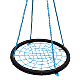 Round Tree Swing Nets - Black & Blue