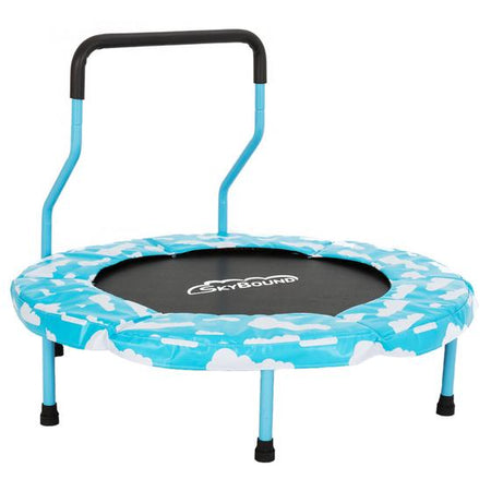 Mini 4 Indoor Children's Trampoline - Sky Blue - SkyBound USA