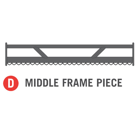Middle Frame Piece W/ Out Metal Plate for 11x16 foot Horizon Trampoline (Part D)