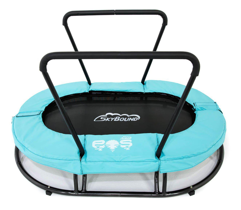 Eos Oval 4 foot Children's Sensory Mini Trampoline - SkyBound USA