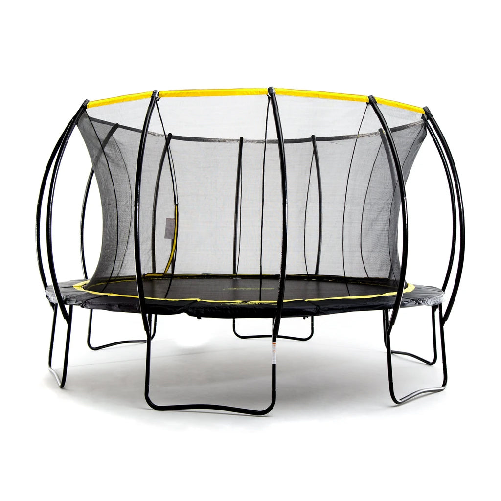 Stratos 14ft Trampoline w Full Enclosure Net System
