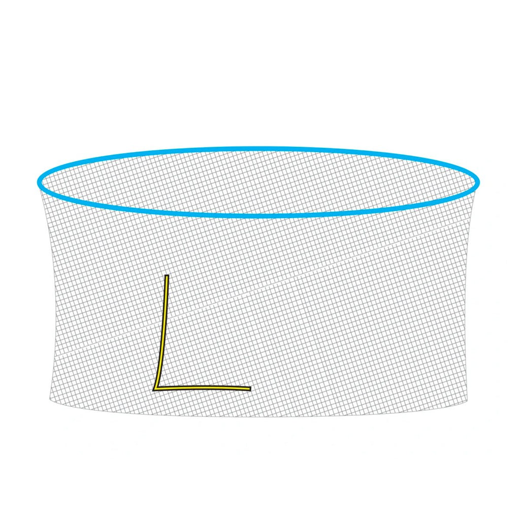 Net for 14 foot Cirrus Trampoline (Part C) V2