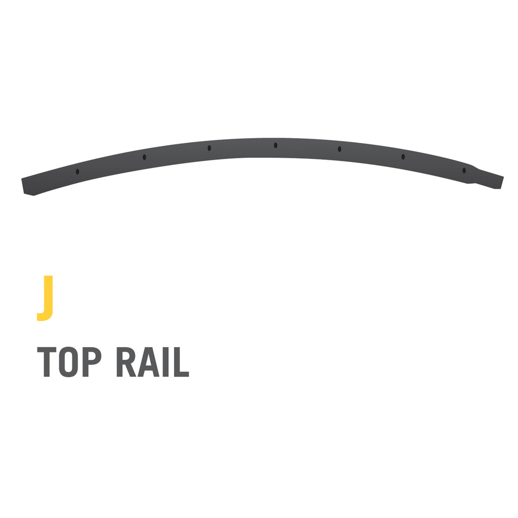 Top Rail for 12 foot Stratos Trampoline (Part J)