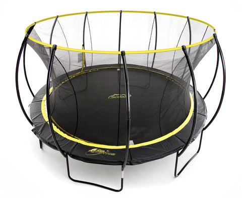 Stratos 14ft Trampoline w Full Enclosure Net System - SkyBound USA