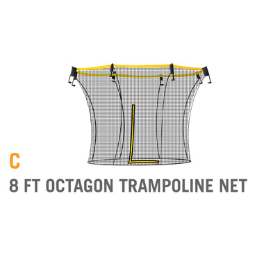 Net for 8 foot Atmos Trampoline - Yellow (Part C)