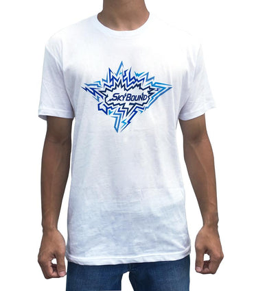 SkyBound Electric Logo T-Shirt - White - SkyBound USA