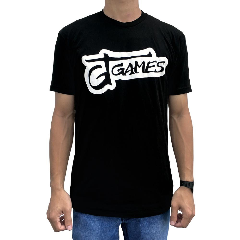 GT Games Logo T-Shirt - Black - SkyBound USA