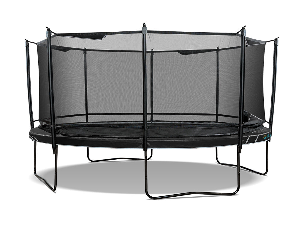 SkyBound Explorer 16ft Oval Trampoline with Safety Enclosure System