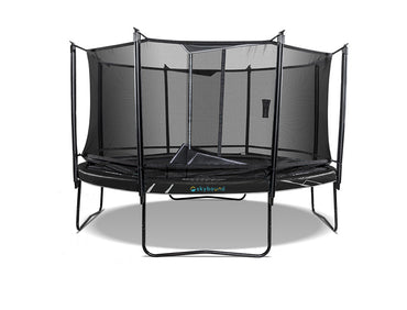 SkyBound Explorer 14ft Round Trampoline with Safety Enclosure System