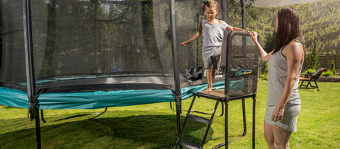 SkyBound Trampoline Platform Ladder