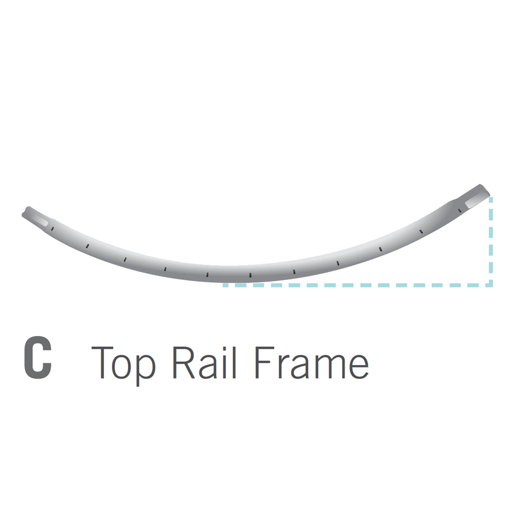Top Rail for 10x14 foot Orion Trampoline (Part C)