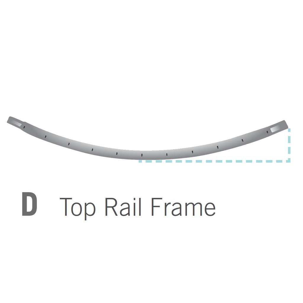 Top Rail for 10x14 foot Orion Trampoline (Part D)