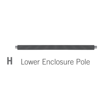 Lower Enclosure Pole for 10x14 foot Orion Trampoline (Part H)