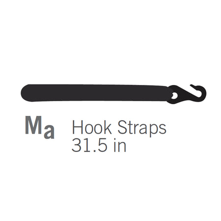 Hooked Strap for Orion Trampolines - 31.5in (Part M (a))